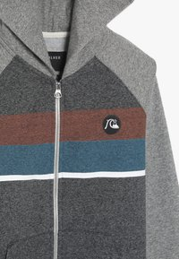 Quiksilver - EVERYDAY ZIP SCREEN YOUTH - veste en sweat zippée - dark grey heather - 3