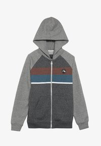 Quiksilver - EVERYDAY ZIP SCREEN YOUTH - veste en sweat zippée - dark grey heather - 2
