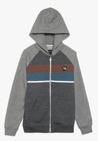 Quiksilver - EVERYDAY ZIP SCREEN YOUTH - veste en sweat zippée - dark grey heather - 0