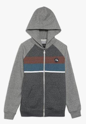 EVERYDAY ZIP SCREEN YOUTH - Zip-up hoodie - dark grey heather