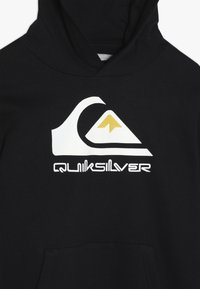 Quiksilver - OMNI LOGO YOUTH - Felpa con cappuccio - black - 3
