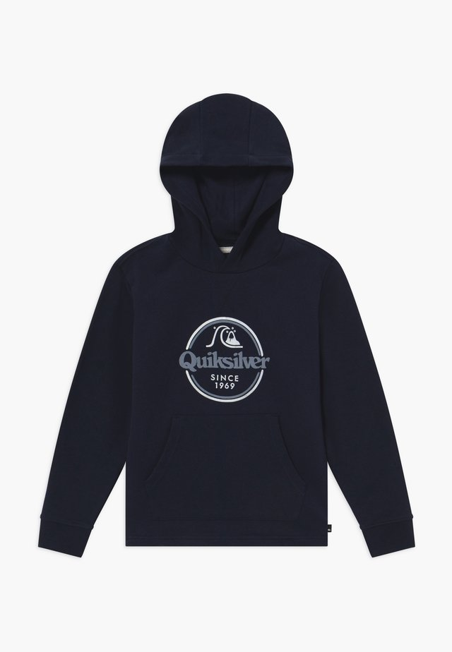 KICK FLIP ZONE HOOD YOUTH - Hoodie - navy blazer