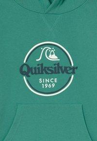 Quiksilver - KICK FLIP ZONE HOOD YOUTH - Mikina skapucí - sea blue - 3