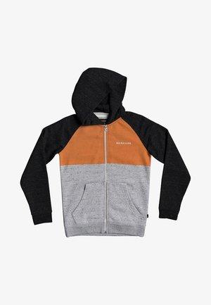 EASY DAY  - veste en sweat zippée - dark grey heather
