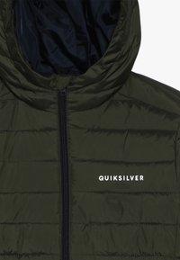 Quiksilver - SCALY YOUTH - Välikausitakki - dark green - 4