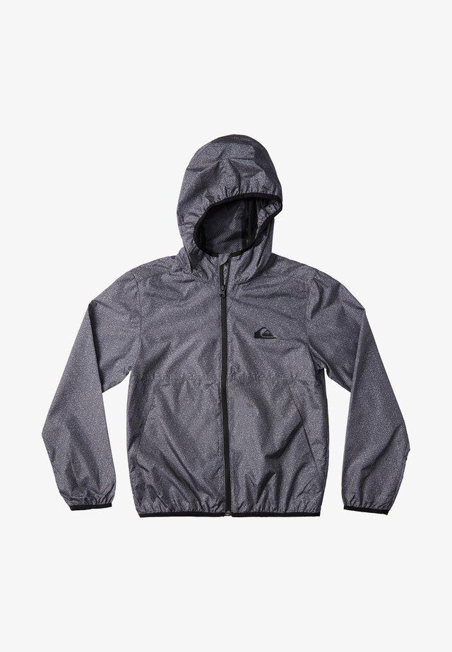 QUIKSILVER™ EVERYDAY - WINDBREAKER MIT KAPUZE FÜR JUNGEN 8-16 EQ - Summer jacket - dark grey heather