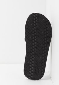 Quiksilver - MONKEY ABYSS - Chaussons - black/brown - 4