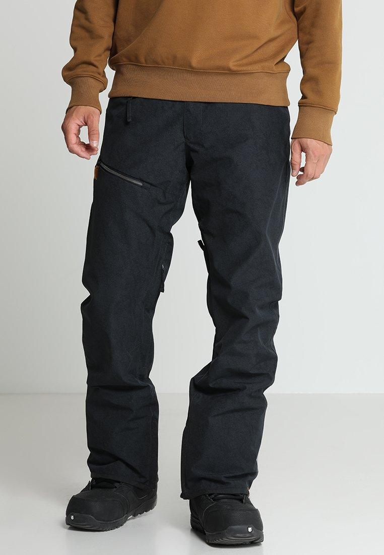 Quiksilver - FOREST OAK  - Zimní kalhoty - black