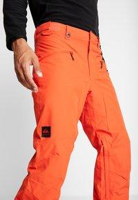 Quiksilver - BOUNDRY - Pantalon de ski - red - 3
