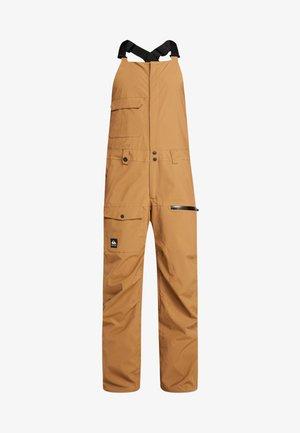 UTILITY BIB - Zimní kalhoty - otter