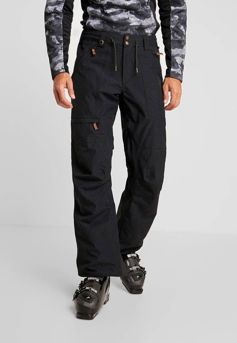 Quiksilver - ELMWOOD - Snow pants - black