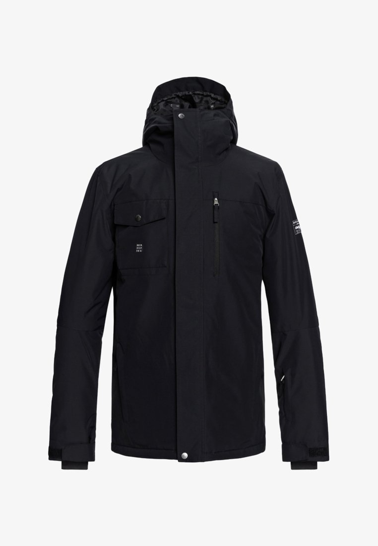Quiksilver - MISSION SOLI  - Snowboard jacket - black