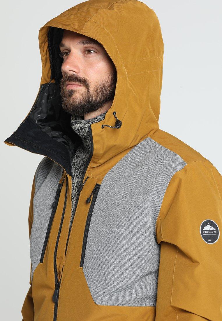 PlusVeste Mission Brown Quiksilver De Snowboard dxCorBe