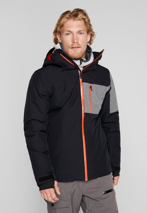 MISSION PLUS - Snowboardjacke - black