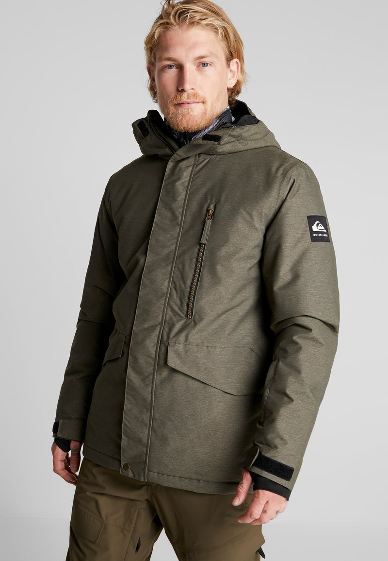 Quiksilver - MISSION - Snowboardjacke - grape leaf