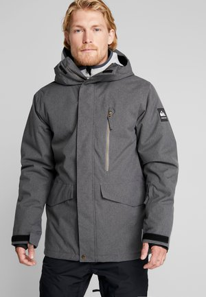 MISSION - Snowboardjacka - black heather