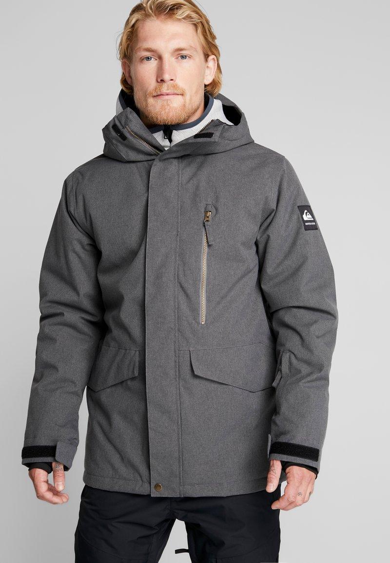 Quiksilver - MISSION - Snowboardjas - black heather