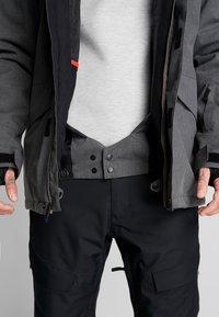 Quiksilver - MISSION - Snowboardjas - black heather - 5