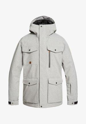 RAFT - Snowboard jacket - light grey heather