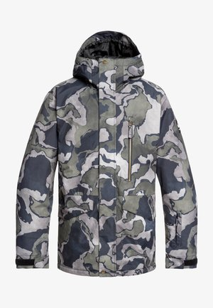 MISSION  - Snowboardjas - mottled anthracite
