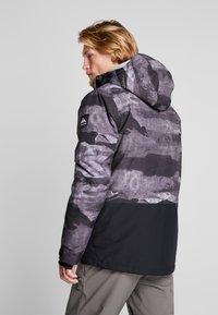 Quiksilver - MISS BLOC - Snowboardjas - black matte - 2