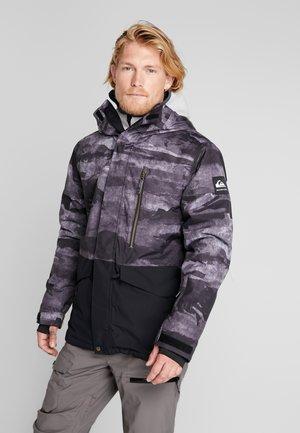 MISS BLOC - Veste de snowboard - black matte