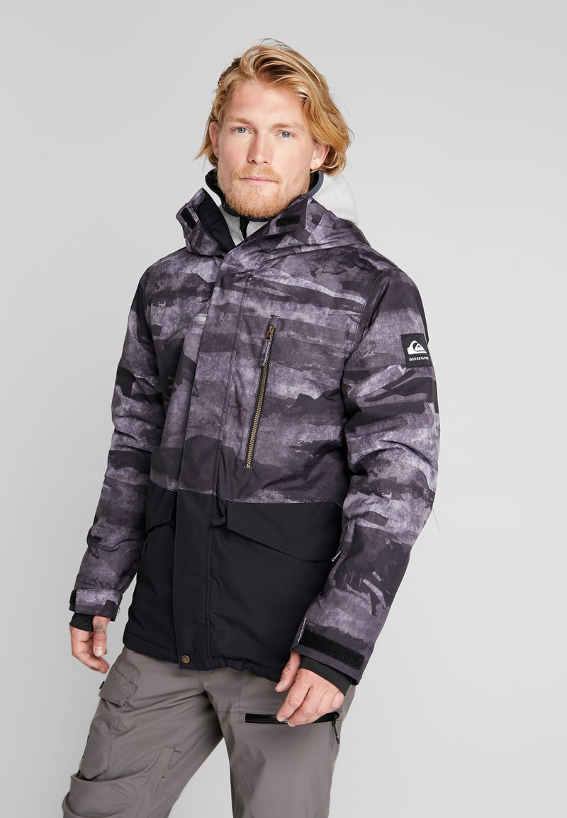 Quiksilver - MISS BLOC - Snowboardjas - black matte