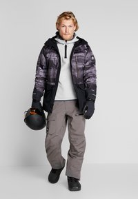 Quiksilver - MISS BLOC - Snowboardjas - black matte - 1
