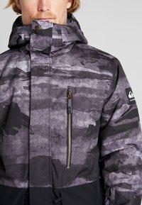 Quiksilver - MISS BLOC - Snowboardjas - black matte - 3