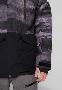 Quiksilver - MISS BLOC - Snowboardjas - black matte - 4