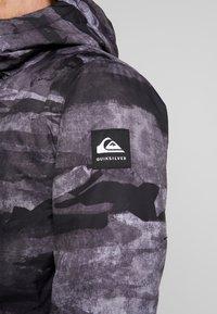 Quiksilver - MISS BLOC - Snowboardjas - black matte - 7