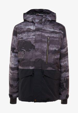 MISS BLOC - Snowboardjas - black matte