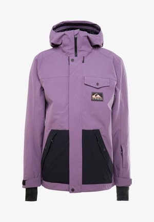 HOOD ANNI - Snowboard jacket - grape compote