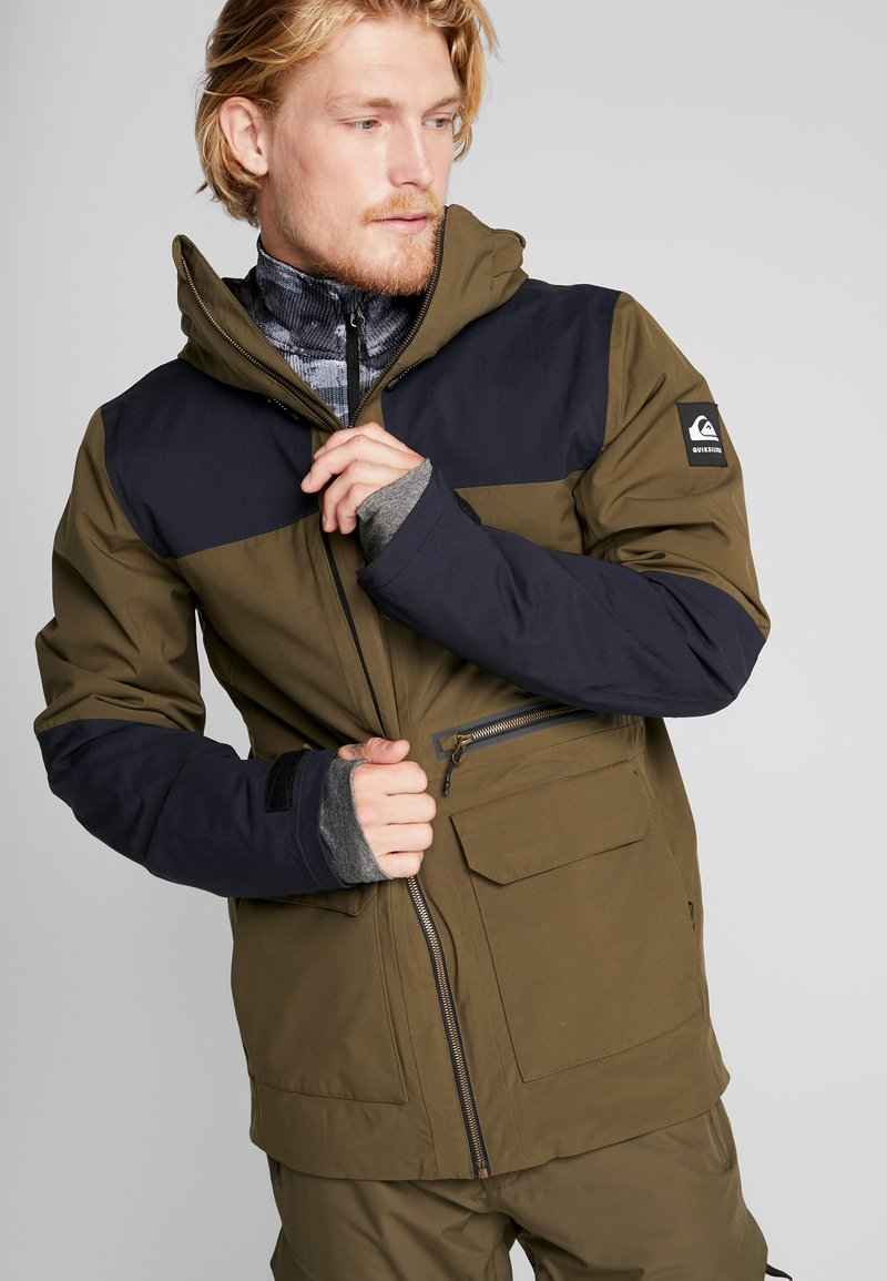 Quiksilver - ARROW WOOD - Snowboardjas - grape leaf