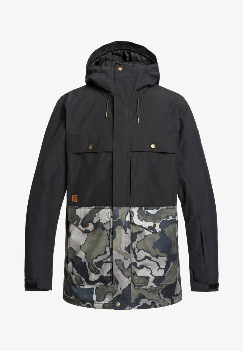 Quiksilver - HORIZON - Snowboard jacket - black
