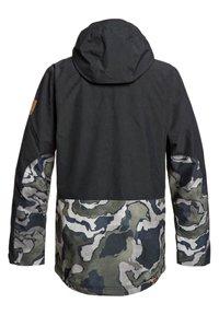 Quiksilver - HORIZON - Snowboard jacket - black - 1