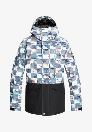 MISSION  - Veste de snowboard - white/blue