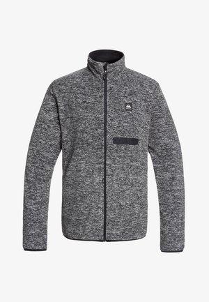 BUTTER - FUNKTIONELLES FLEECE - Fleece jacket - black