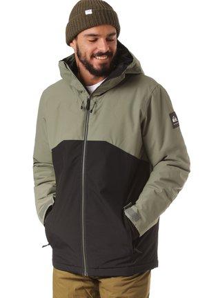 Snowboardjas - green