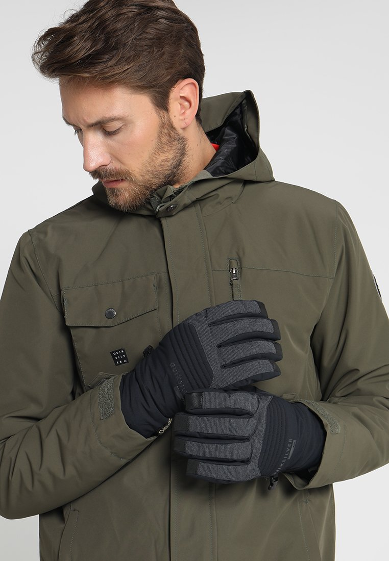 Quiksilver - HILL GORE GLOVE - Gloves - black
