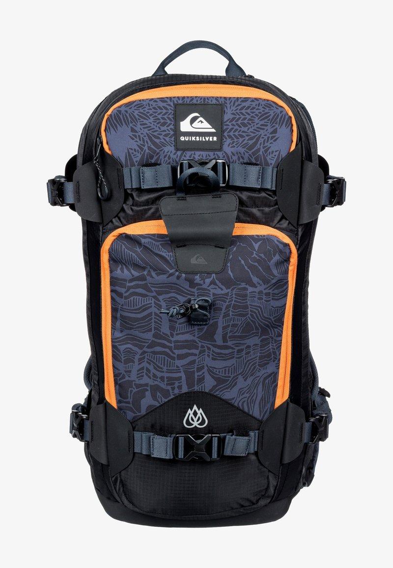 Quiksilver - TRAVIS RICE PLATINUM - Hiking rucksack - black