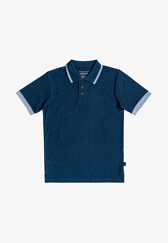 QUIKSILVER™ KENTIN - KURZÄRMLIGES POLO-HEMD FÜR JUNGEN 8-16 EQBK - Polo shirt - majolica blue
