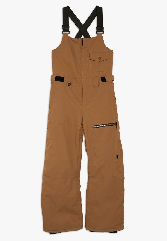 UTILI YOUTH - Pantaloni da neve - otter