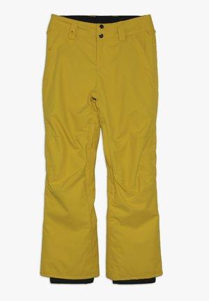 ESTATE YOUTH - Snow pants - sulphur