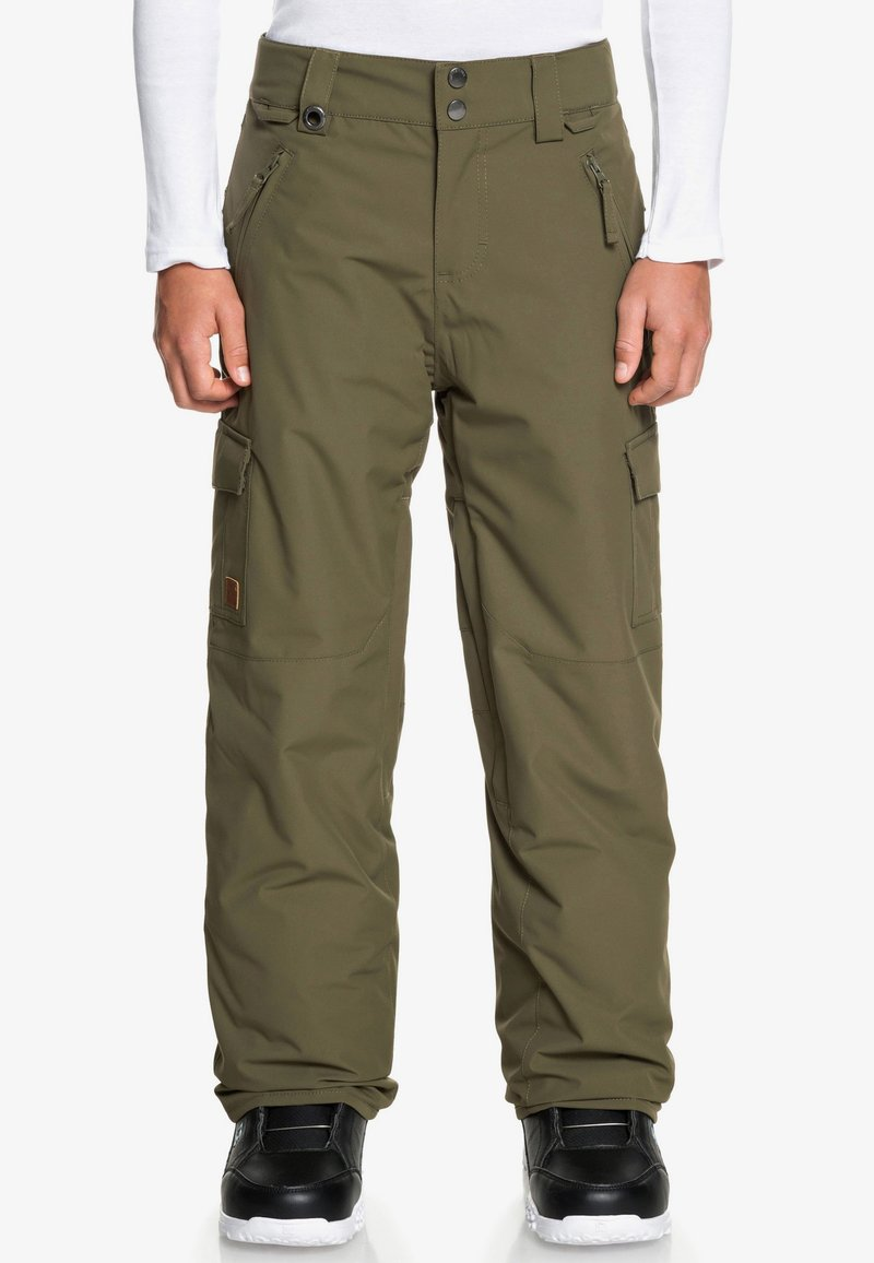 Quiksilver - PORTER EQBTP - Snow pants - grape leaf