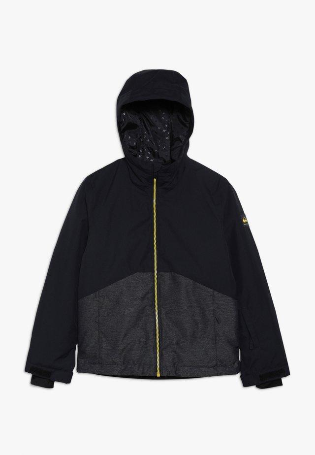 SIERRA YOUTH - Snowboardová bunda - black