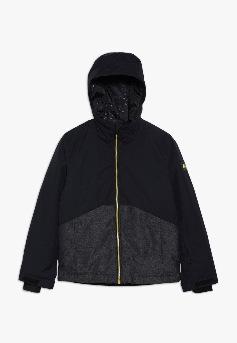 Quiksilver - SIERRA YOUTH - Snowboardová bunda - black