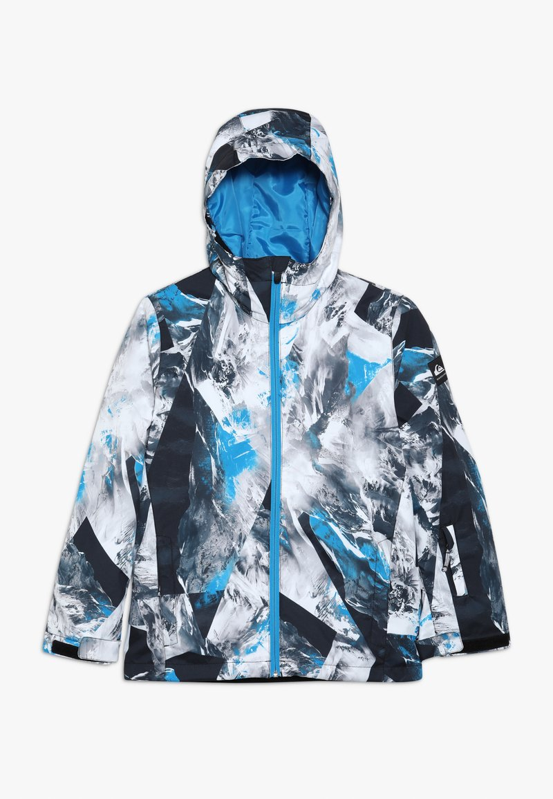 Quiksilver - MIS PRIN YOU  - Snowboard jacket - blue/white/mottled grey