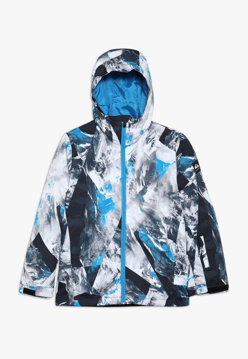 Quiksilver - MIS PRIN YOU  - Snowboardjacke - blue/white/mottled grey