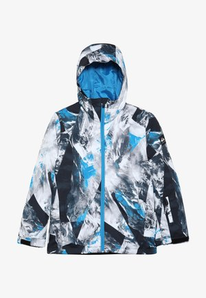 MIS PRIN YOU  - Snowboardjacke - blue/white/mottled grey